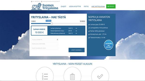 Suomen Yrityslaina hakemus