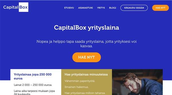 Capitalbox hakemus